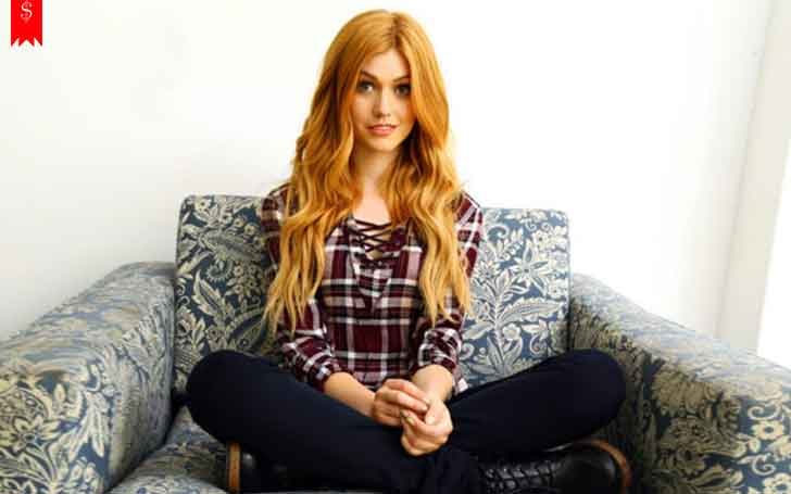 Katherine McNamara revealed her boyfriend. Find her net worth and career
